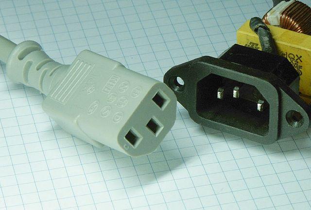 iec plug and socket