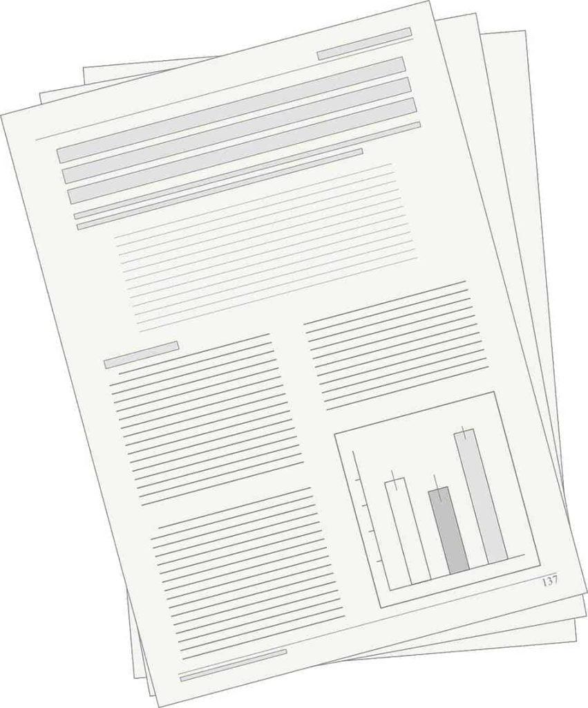 text document illustration