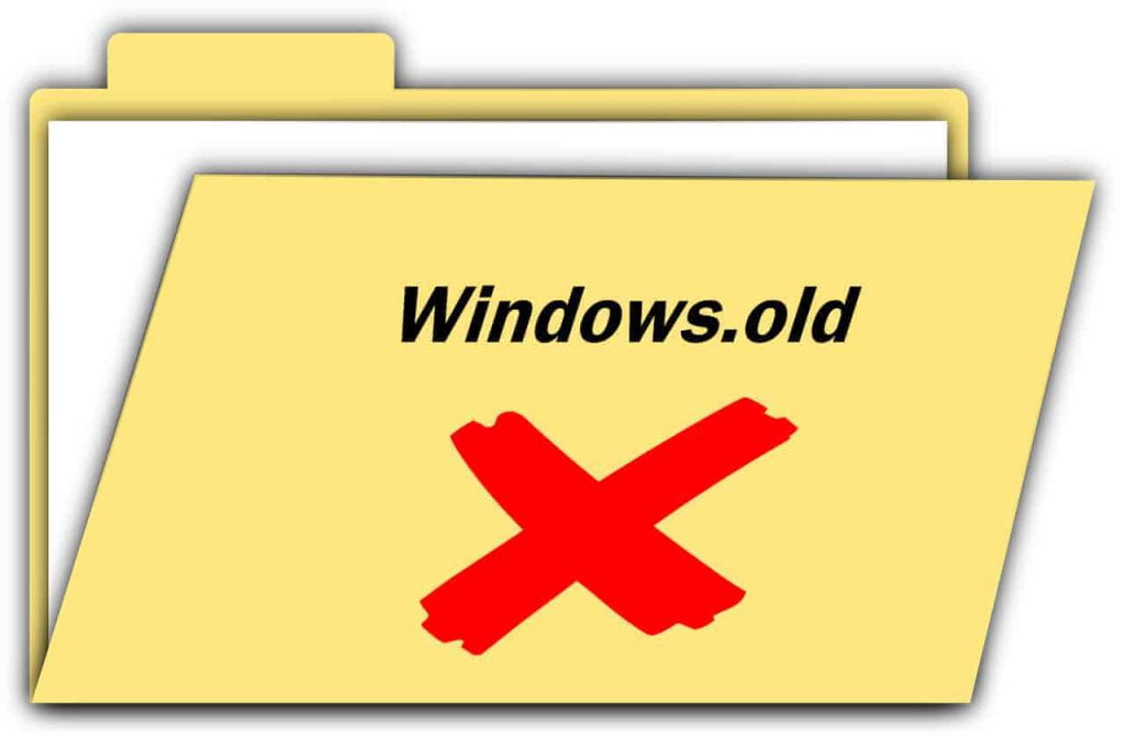remove windows old