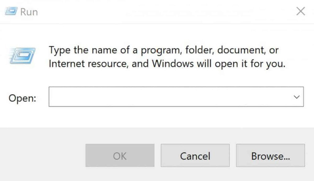 How to Open the Run Command Box in Windows 10 1