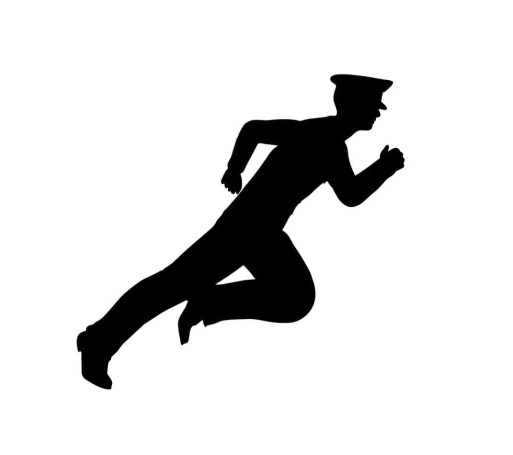 commander running