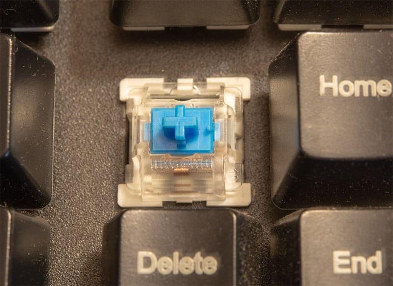 mechanical key on mechanical keyboard