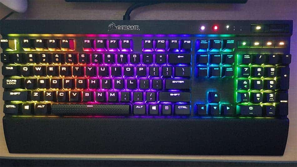 keyboard top view with lights - computer keyboard buyer's guide