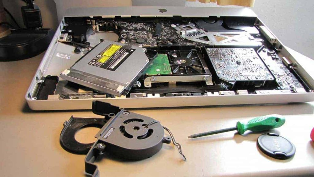replace laptops fans