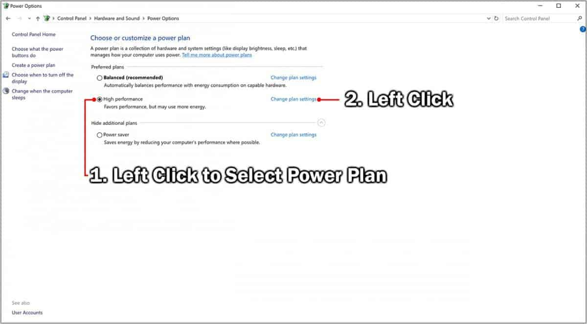 How to Change the Power Plan in Windows 10 Easily 3