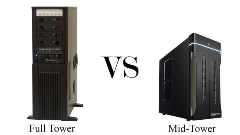 Mid Tower vs Full Tower (Differences and How to Choose)