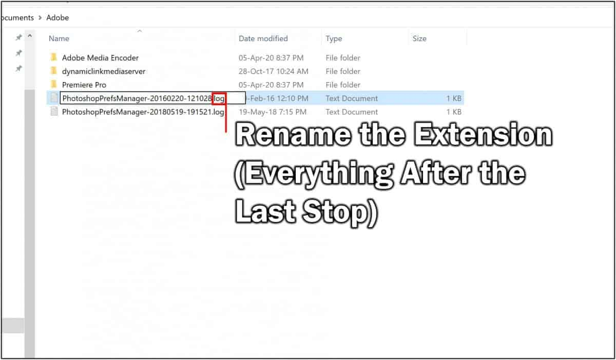 How to Change File Type in Windows 10 3