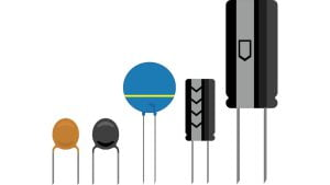 various kinds of capacitors