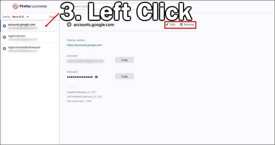 How to Edit Autofill on Firefox (Usernames and Passwords) 1