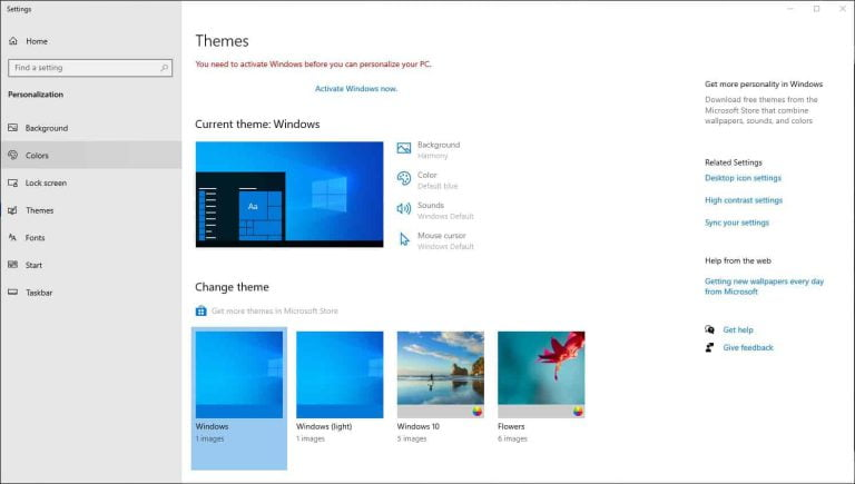6 Disadvantages of Not Activating Windows 10