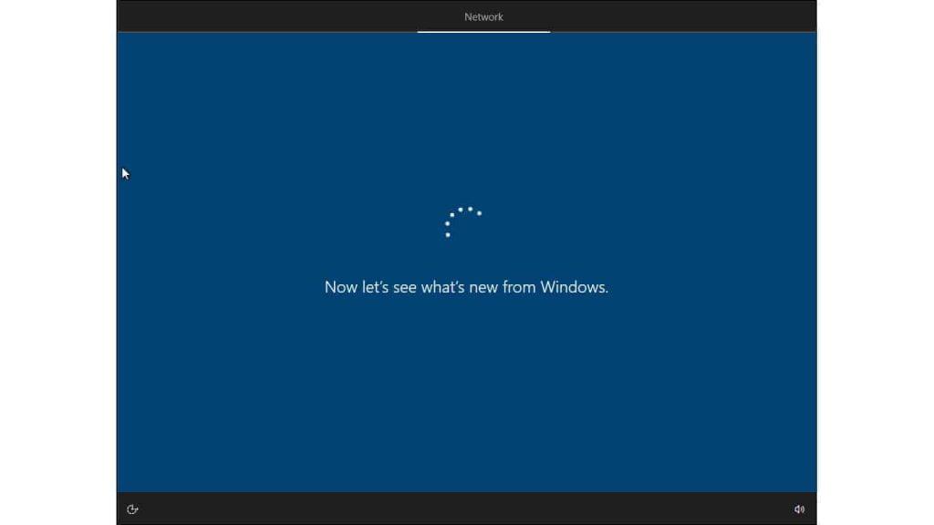 windows 10 setup getting updates
