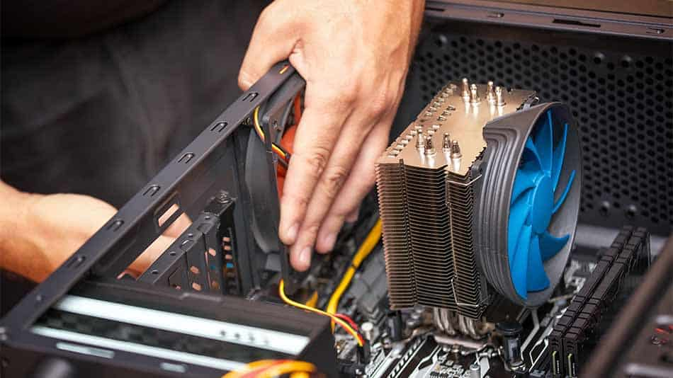 installing cooling fan to computer case
