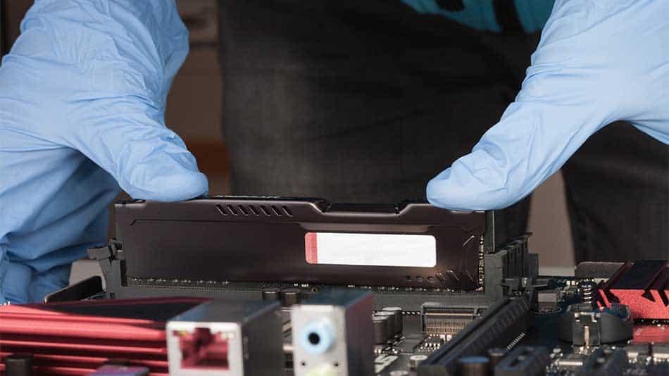 installing ram module